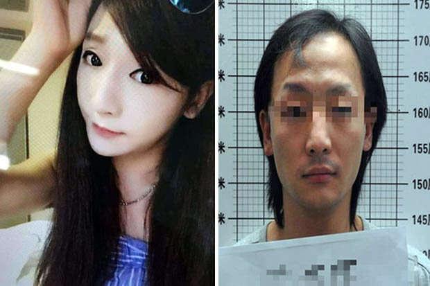 Homem de sobrenome Guan foi preso após se disfarçar de uma jovem e atraente mulher para trabalhar como uma garçonete