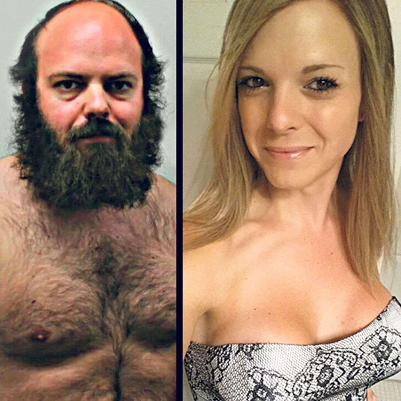 Homem peludo se transforma em mulher