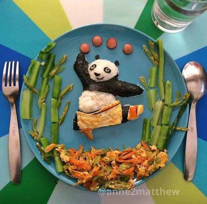 Panda no prato