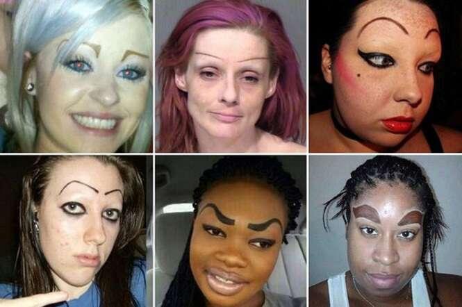 Pessoas com as sobrancelhas mais bizarras do planeta