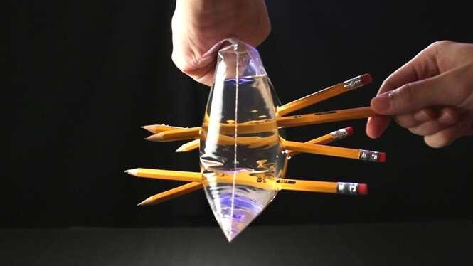 Truques descolados para fazer usando a água