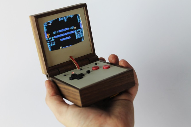 Videogame inovador cabe dentro do seu bolso