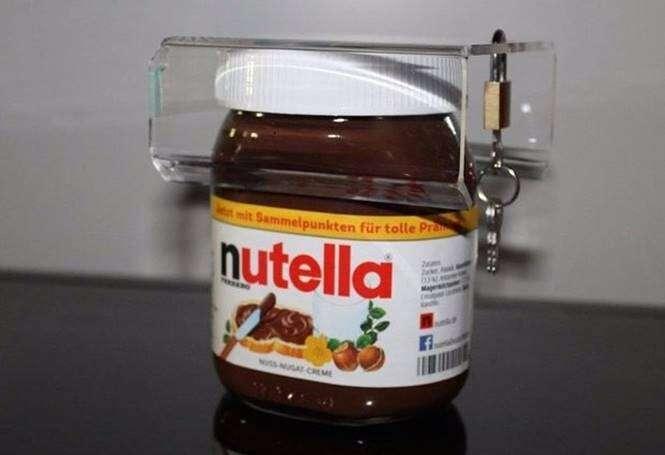 Cadeado de Nutella