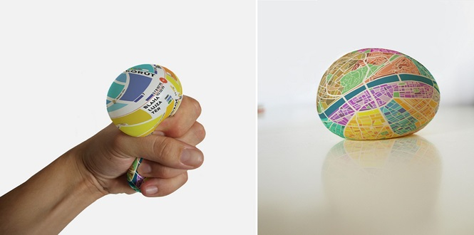 """Estudante cria mapa onde o zoom é dado com um simples """"apertão"""""""