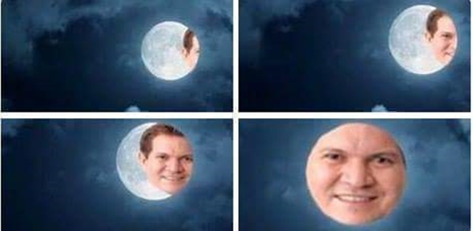 Memes sobre o eclipse e lua de sangue do último domingo (27)