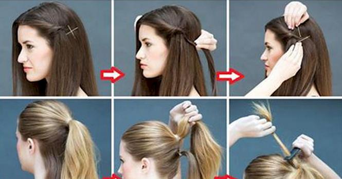 Penteados femininos simples e bonitos