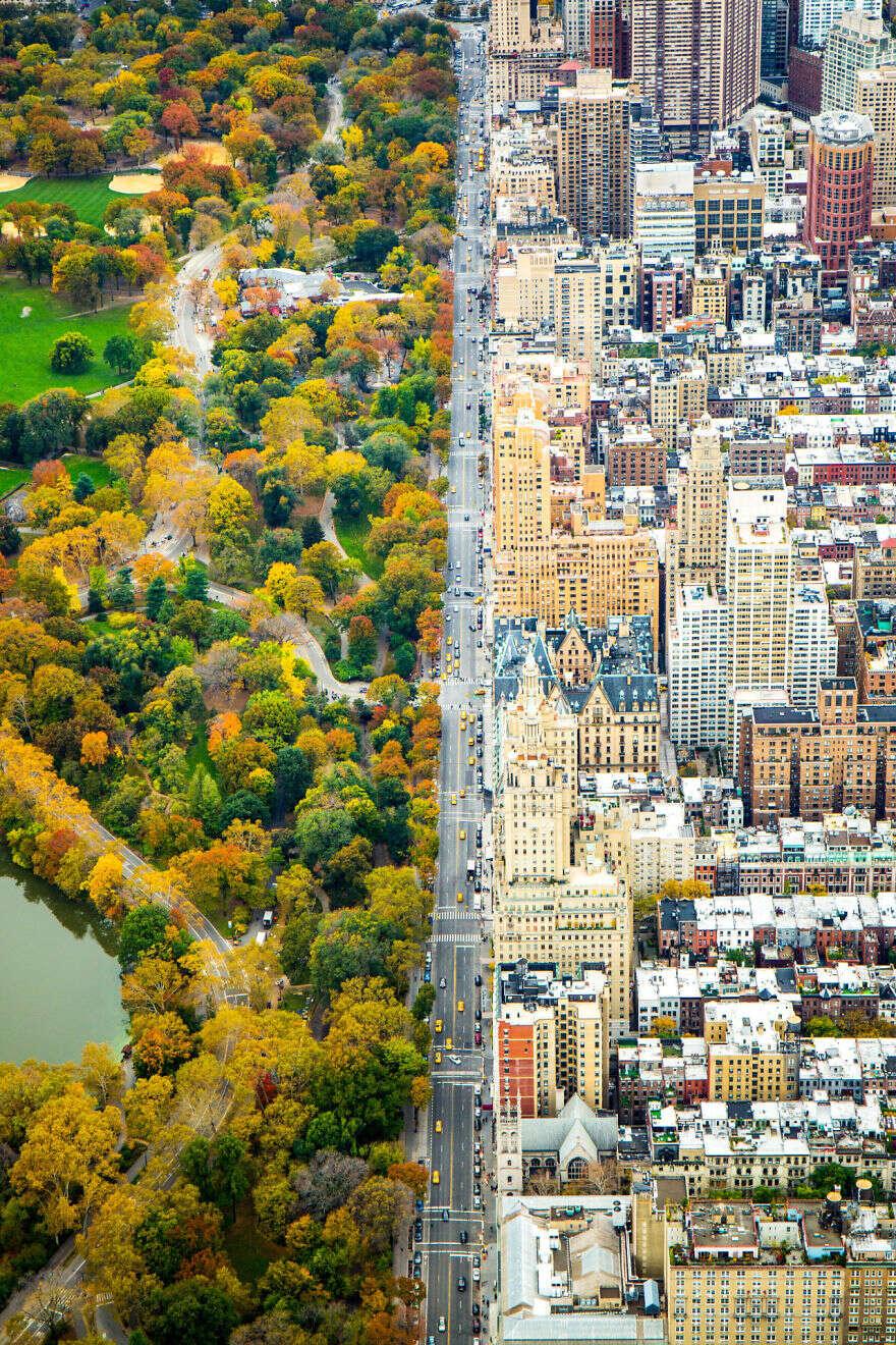 Foto mostra incrível contraste em cidade de Nova York