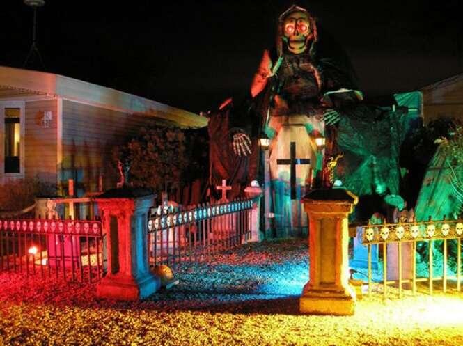 As casas mais assustadoras decoradas para o Dia das Bruxas