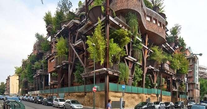 Casas na árvore com arquitetura nada convencional