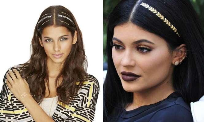 Tatuagem para cabelos faz sucesso entre as mulheres