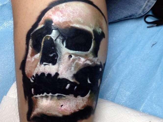 Tatuagens realistas que vão te impressionar