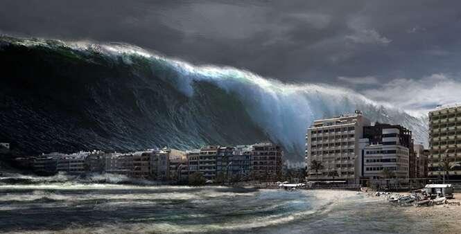 Cientistas indicam possibilidade da Terra ser devastada por megatsunami