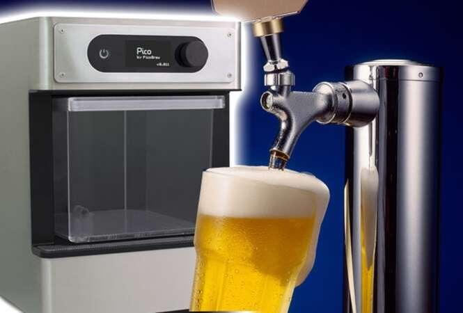 Conheça a máquina que permite produzir sua própria cerveja artesanal
