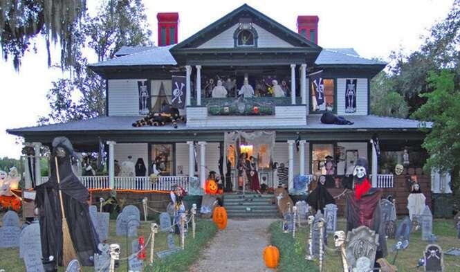 As mais incríveis casas decoradas para o Dia das Bruxas
