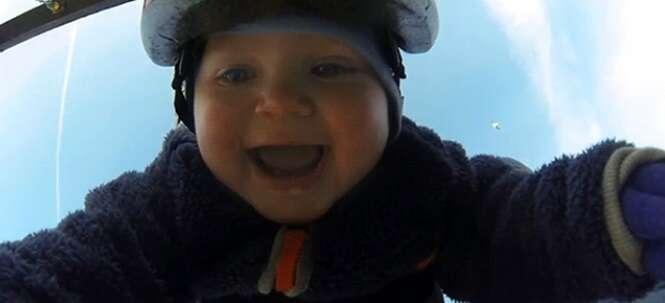 Bebês que adoram uma bagunça