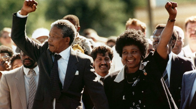 Nelson Mandela Was Released From Prison After 27 Years.