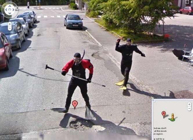 As mais estranhas fotos encontradas no Google Maps