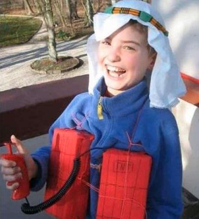 As mais impróprias fantasias do Dia das Bruxas para crianças