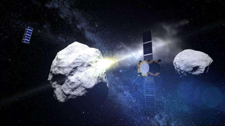 Cientistas da Nasa tentam desviar rota de asteroide gigante