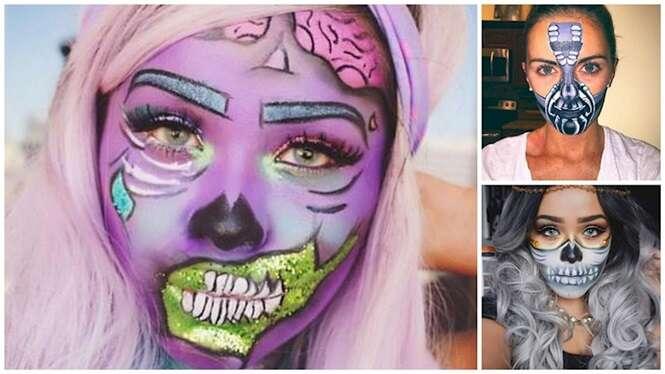 Maquiagens para o Dia das Bruxas