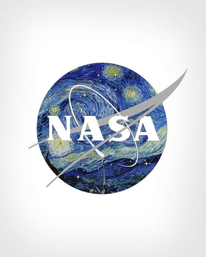 Artista mistura logotipos de empresas com pinturas artísticas