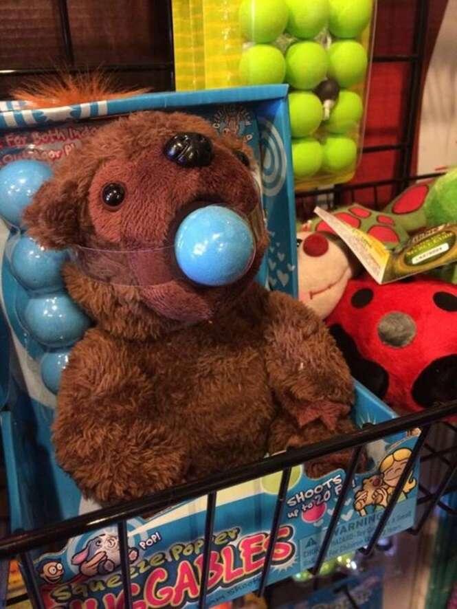 Brinquedos inapropriados para crianças
