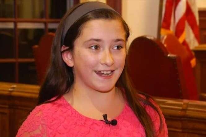 Rebecca DePietro, de 11 anos