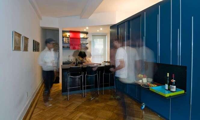 Conheça o apartamento de 35 m²