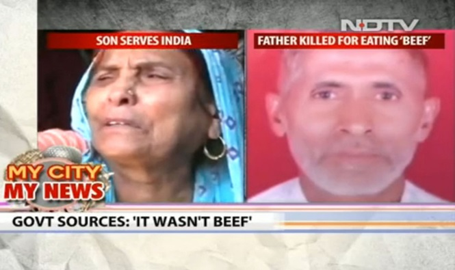 Idoso indiano é espancado e morto após alegações de que ele comeu carne