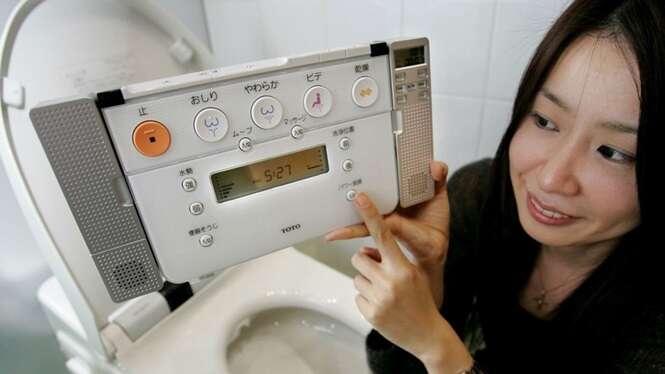 Conheça algumas das tecnologias mais bizarras para o banheiro