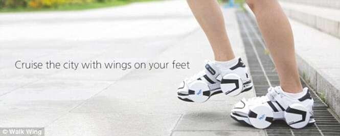 Incrível sapato permite correr longas distâncias sem se cansar