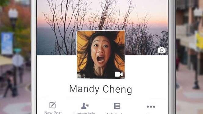 Facebook lança recurso que permite usar vídeo de 7 segundos como imagem de perfil