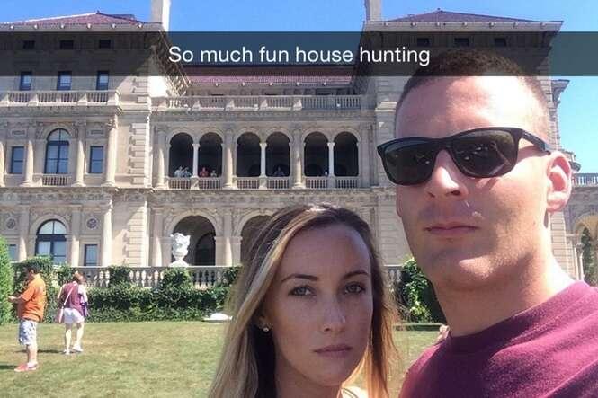 """Casal bomba no Instagram ao postar fotos de viagens """"chatas"""" para mostrar que as pessoas exageram na internet"""