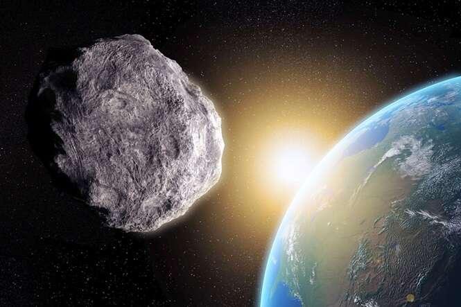 Enorme asteroide com potencial de destruir a Terra vem em direção ao nosso planeta