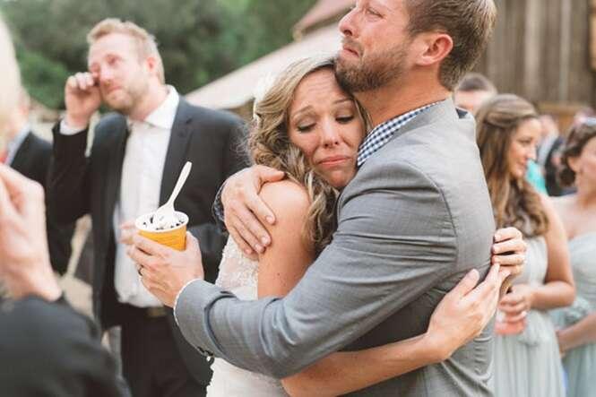 Fotografias de casamentos que demonstram os sentimentos mais sinceros