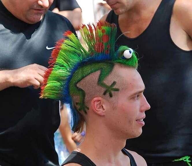 Os cortes de cabelo mais estranhos do mundo
