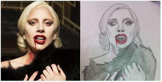 Ilustrações surpreendentes de celebridades feitos pelos fãs
