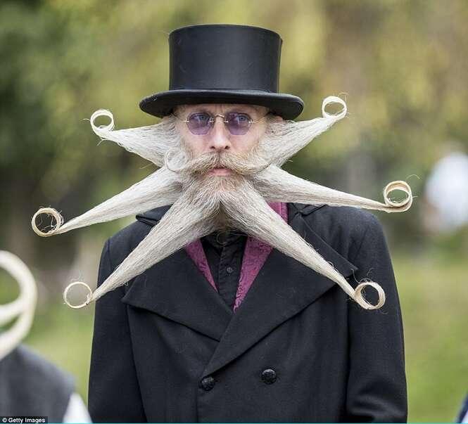 Áustria sedia competição em busca da maior barba do mundo
