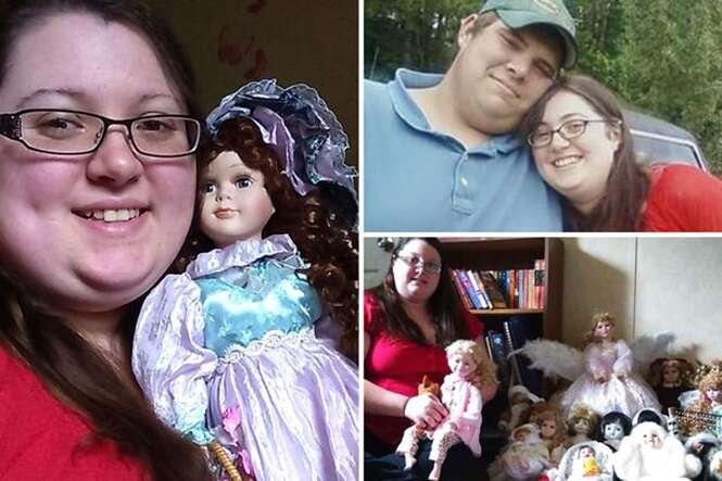 Homem acorda com arranhões no rosto e namorada afirma que suas bonecas foram as autoras dos cortes