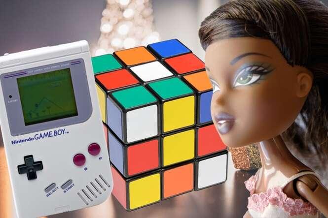 Lista mostra quais brinquedos as crianças mais desejavam ganhar em cada Natal