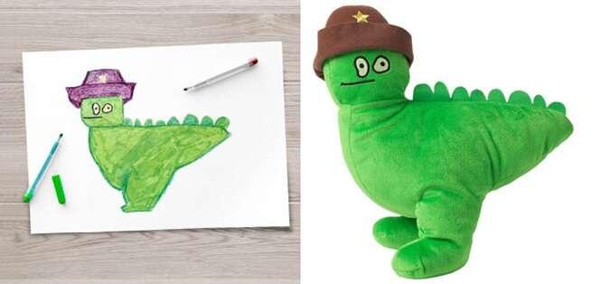 Empresa transforma desenhos de crianças em lindas pelúcias