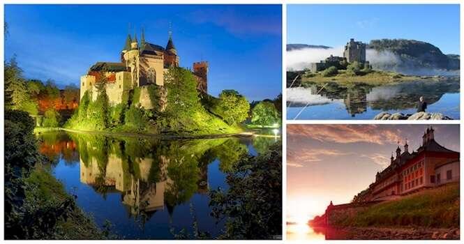 Os mais deslumbrantes castelos do mundo