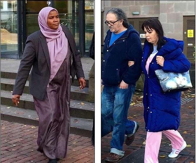 Doutor Hadiza Bawa-Garba (à direita) e enfermeira Isabel Amaro (à direita) foram ambos considerados culpados de homicídio