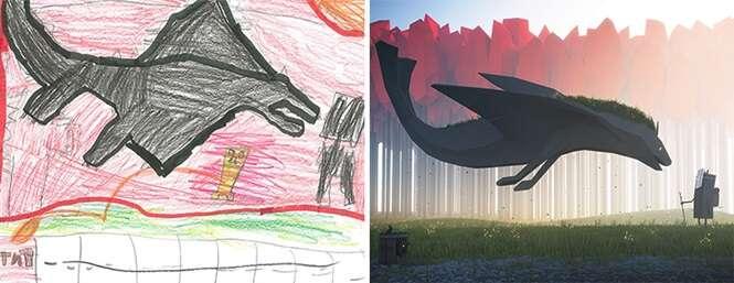 Projeto aproveita desenhos de crianças para criar Doodles