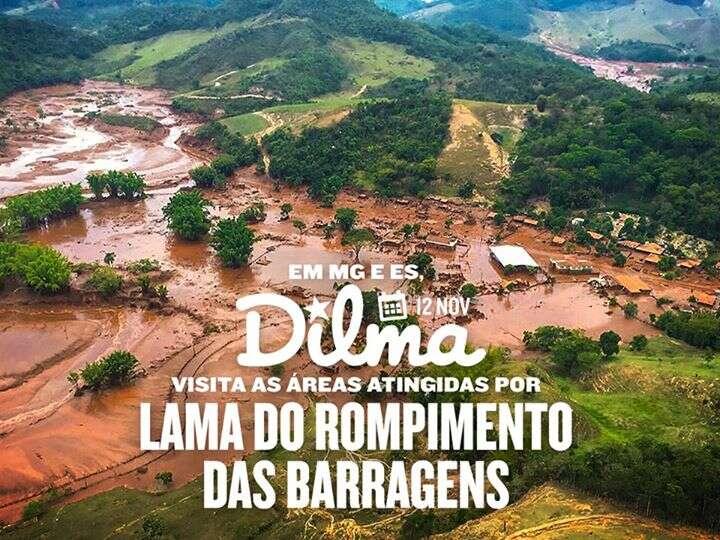 Post da presidente Dilma sobre tragédia em barragem de Minas Gerais causa revolta entre usuários do Facebook