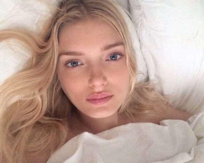 Modelos da Victoria's Secret sem maquiagem