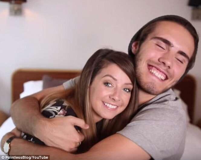 Zoella e seu namorado