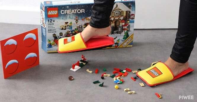 LEGO agora possui chinelos anti-LEGO