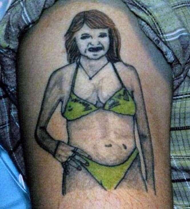 As tatuagens mais bizarras já feitas