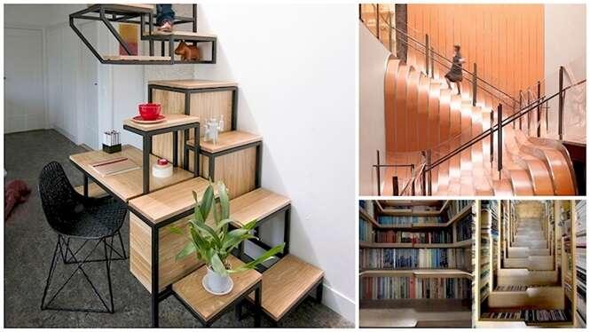 As escadas mais criativas do mundo